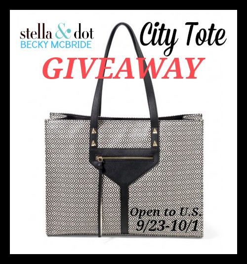 Stella & Dot City Tote Giveaway