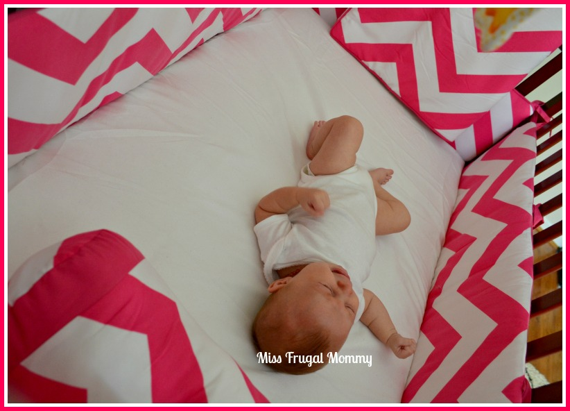 The Sweet Jojo Designs Chevron Pink & White Crib Bedding Set Review