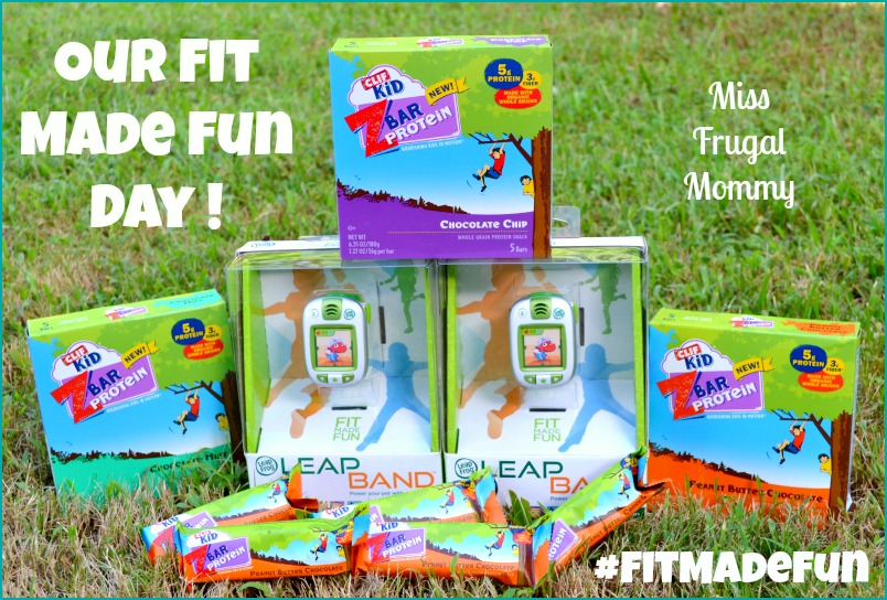 Our Fit Made Fun Day & New LeapFrog LeapBand
