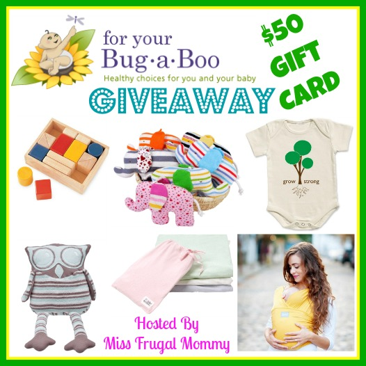 For Your Bug-A-Boo $50 Gift Card Giveaway