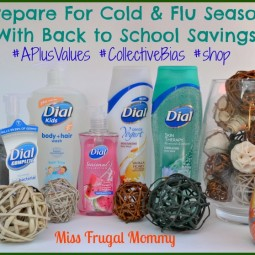 Prepare For Cold & Flu Season With Back to School Savings #APlusValues #CollectiveBias #shop