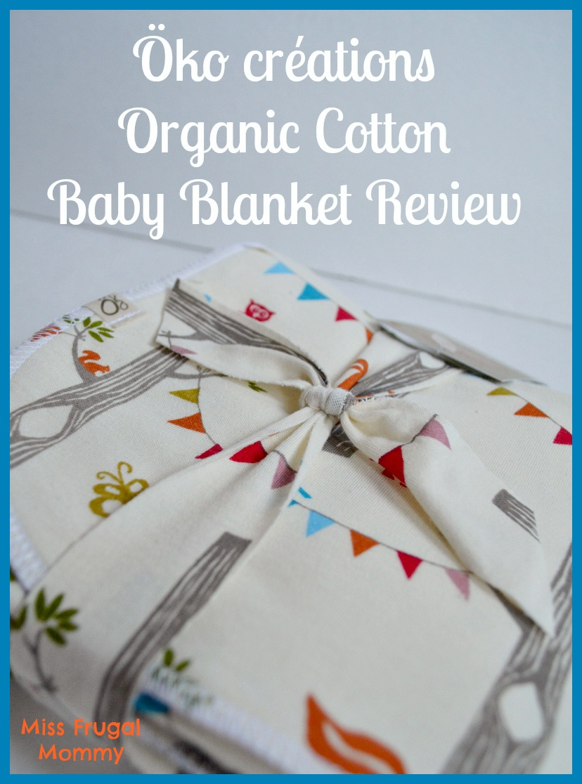 Öko créations Organic Cotton Baby Blanket Review