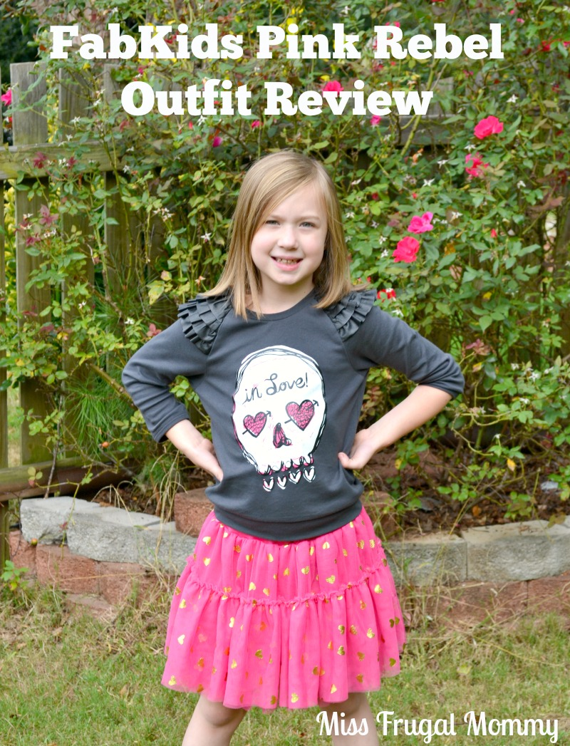 FabKids Pink Rebel Outfit Review – Miss Frugal Mommy