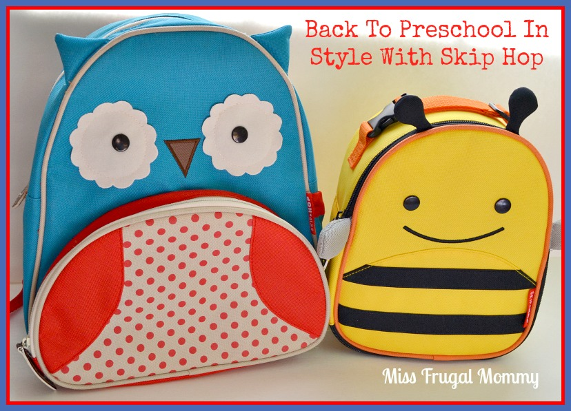 Back To Preschool In Style With Skip Hop