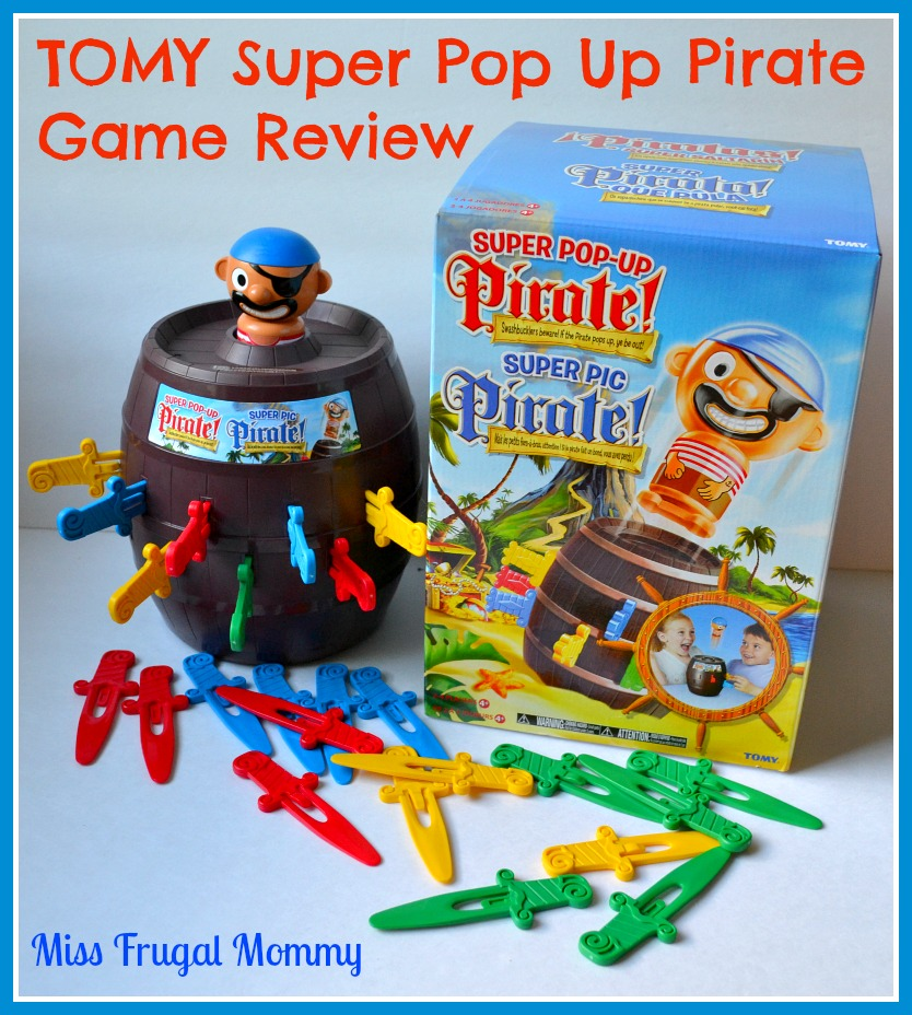 TOMY Super Pop Up Pirate Game Review