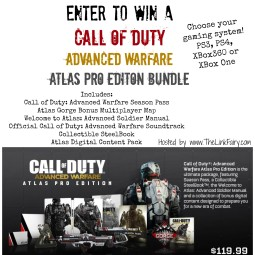 Enter to win a Call Of Duty Advanced Warfare Atlas Pro Edition Bundle on TheLinkFairy.com!