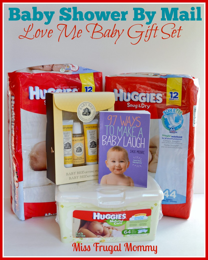 Baby Showers By Mail: Love Me Baby Gift Set