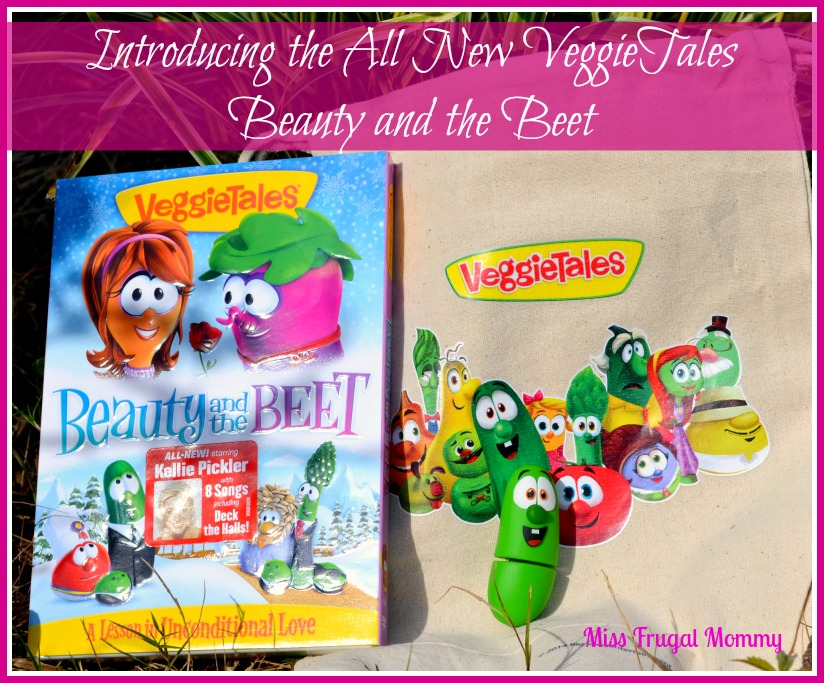 Introducing the All New VeggieTales Beauty and the Beet