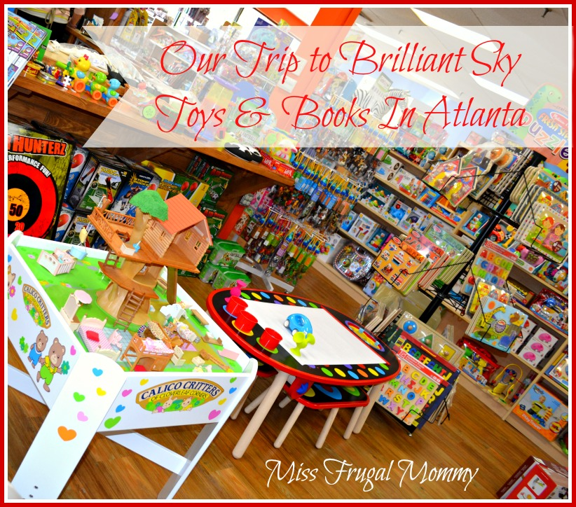 Our Trip to Brilliant Sky Toys & Books In Atlanta