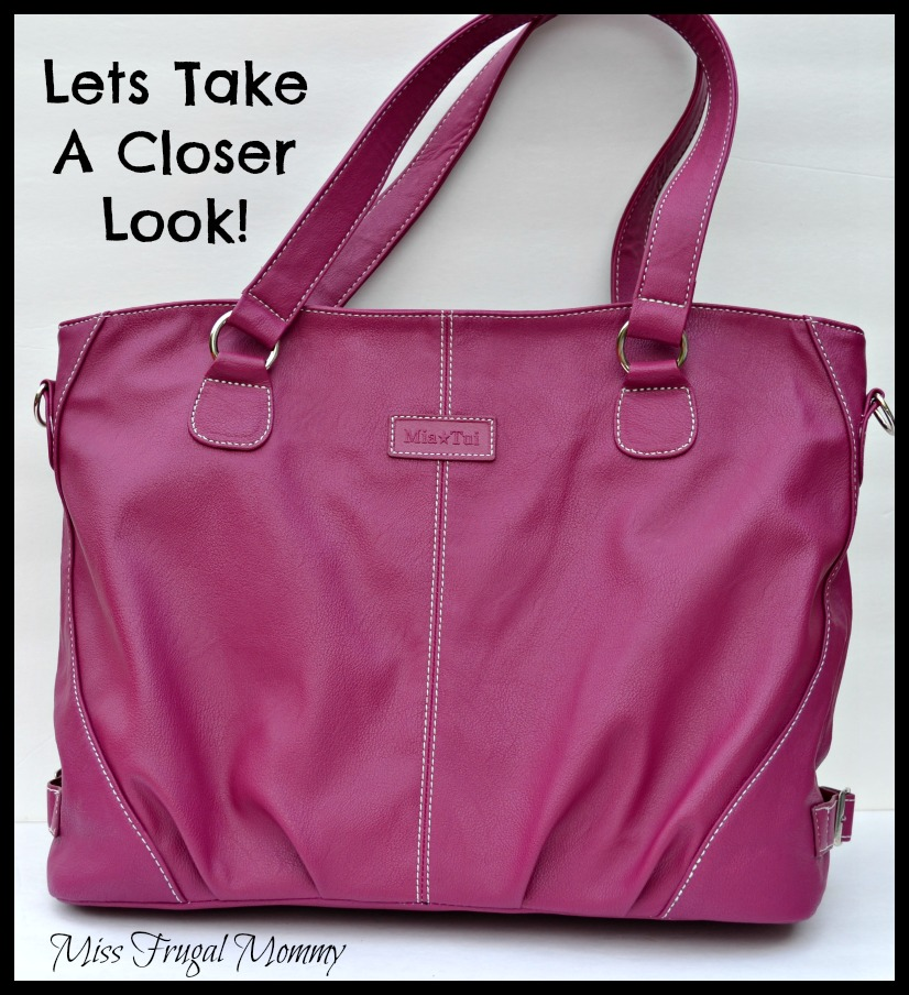 Moms Can Be Stylish To With The Mia Tui Ella Plum Bag