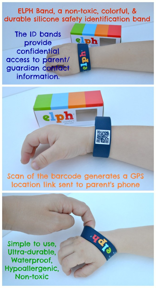 Stay Connected With The ELPH Safety ID Band