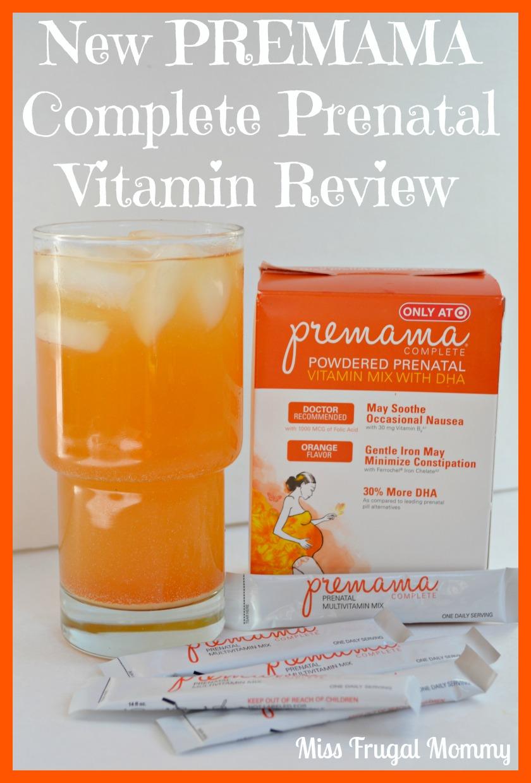 New PREMAMA Complete Prenatal Vitamin
