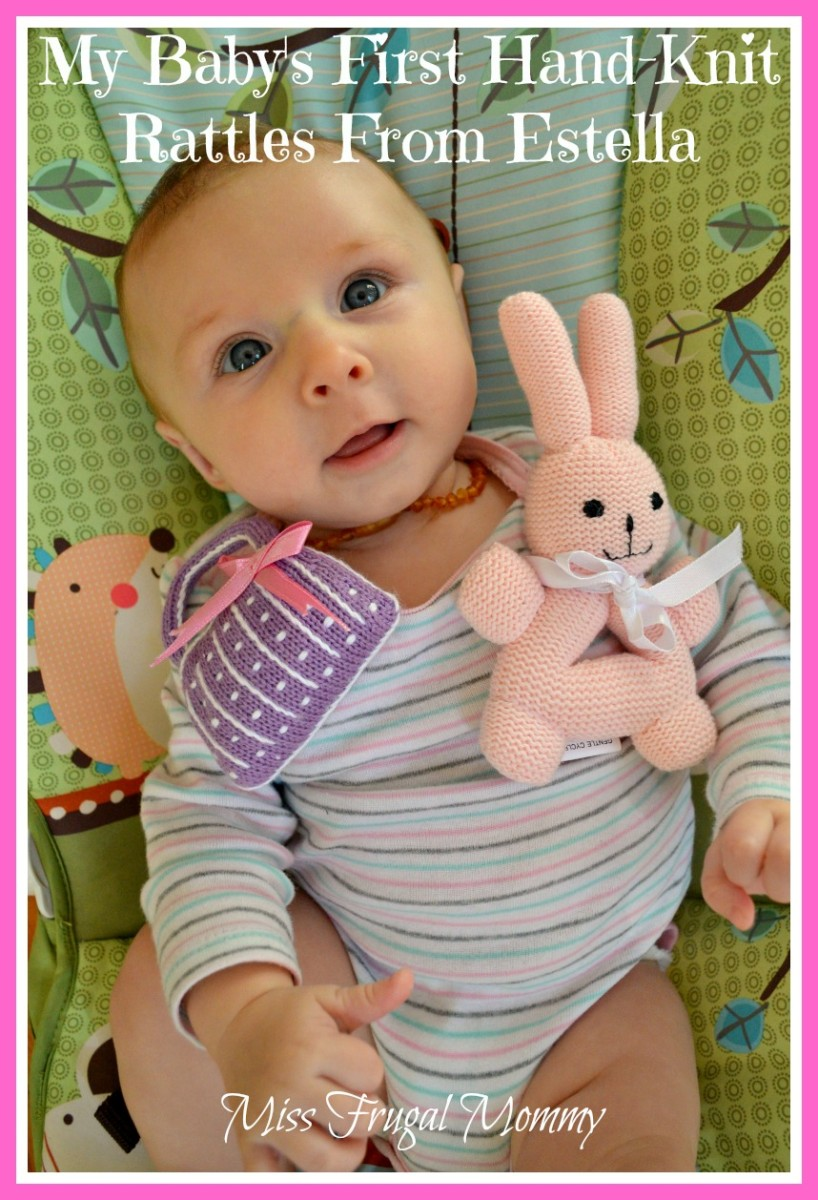My Baby's First Hand-Knit Rattles From Estella