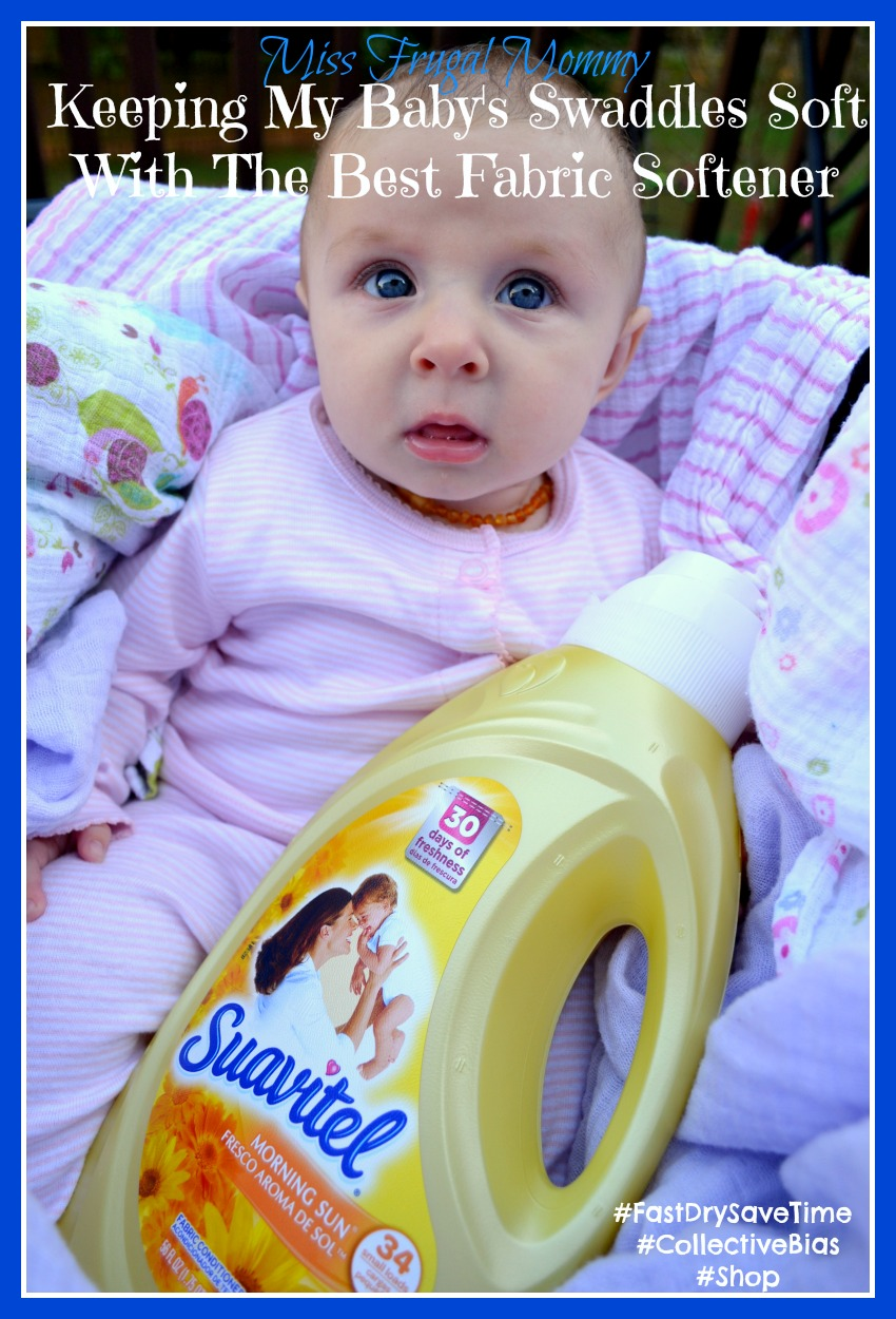 Keeping My Baby's Swaddles Soft With The Best Fabric Softener