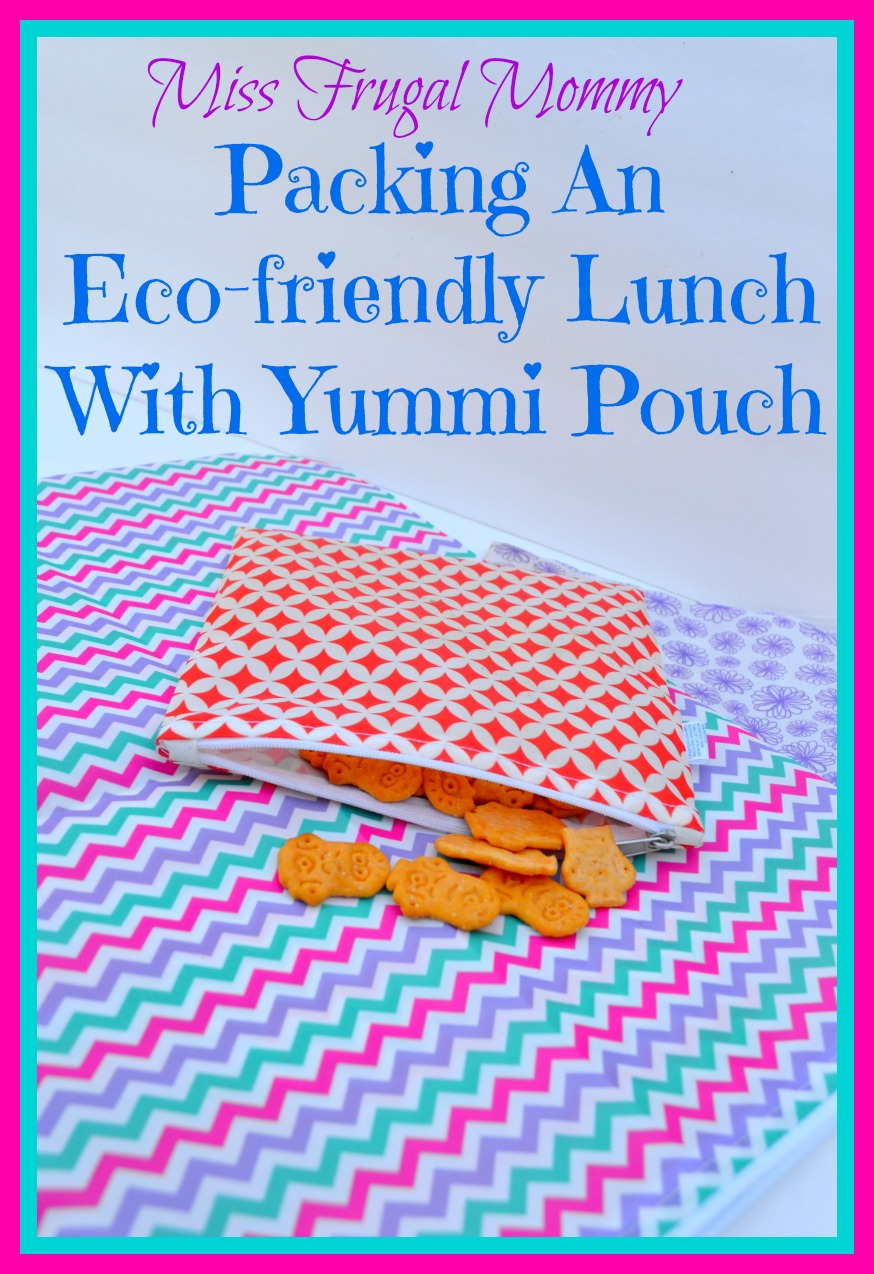 Packing An Eco-friendly Lunch With Yummi Pouch