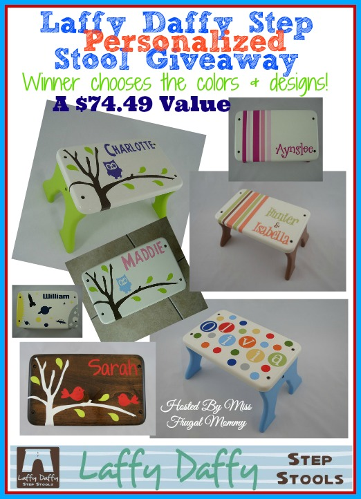 Laffy Daffy Step Stool Giveaway