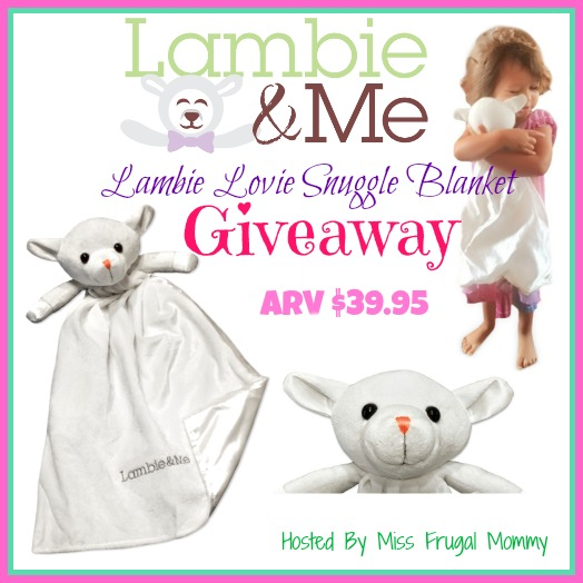 Lambie Lovie Snuggle Blanket Giveaway