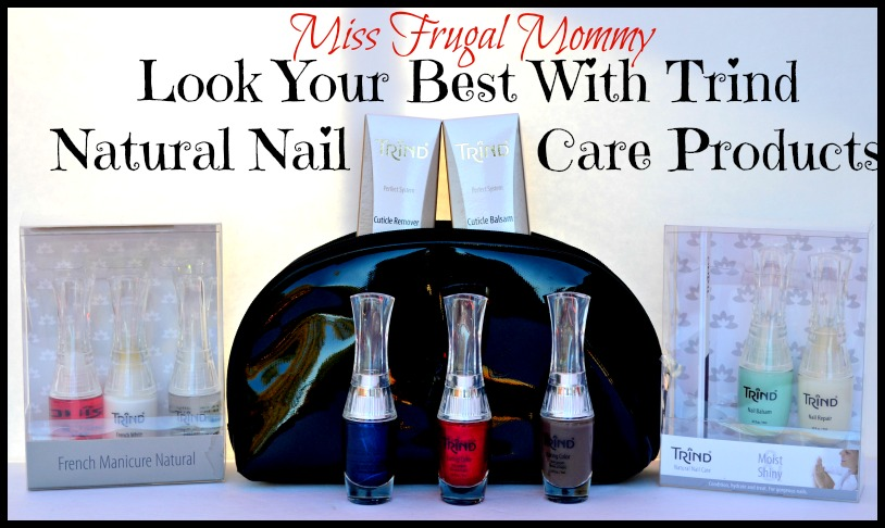 Look Your Best With Trind Natural Nail Care Products 1