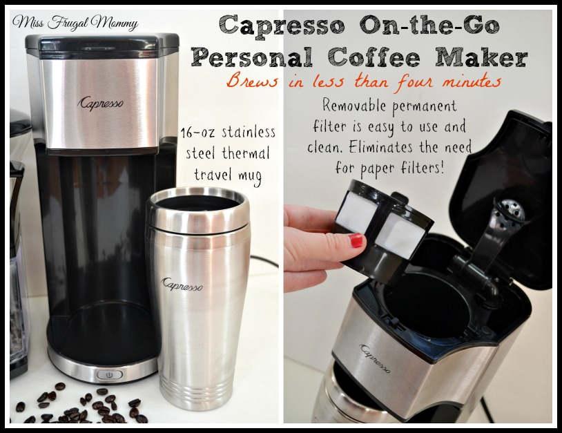 Fresh Coffee On-the-Go With Capresso