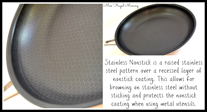 A Revolutionary Stainless Nonstick Fry Pan Miss Frugal Mommy