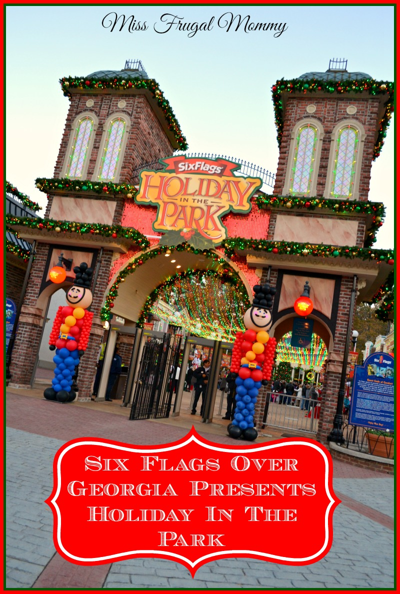 Six Flags Over Georgia Presents Holiday In The Park