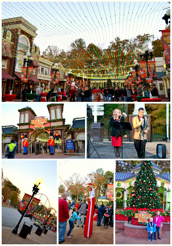 Six Flags Over Georgia Presents Holiday In The Park – Miss Frugal ...