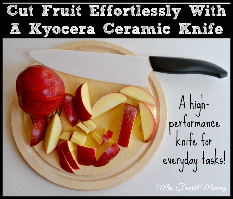 Cut Fruit Effortlessly With A Kyocera Ceramic Knife