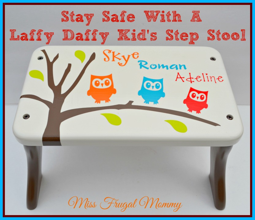 Stay Safe With A Laffy Daffy Kid's Step Stool