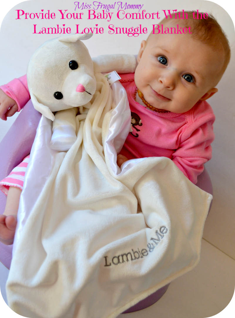 Provide Your Baby Comfort With the Lambie Lovie Snuggle Blanket