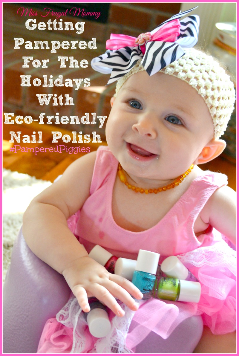Getting Pampered For The Holidays With Eco-friendly Nail Polish
