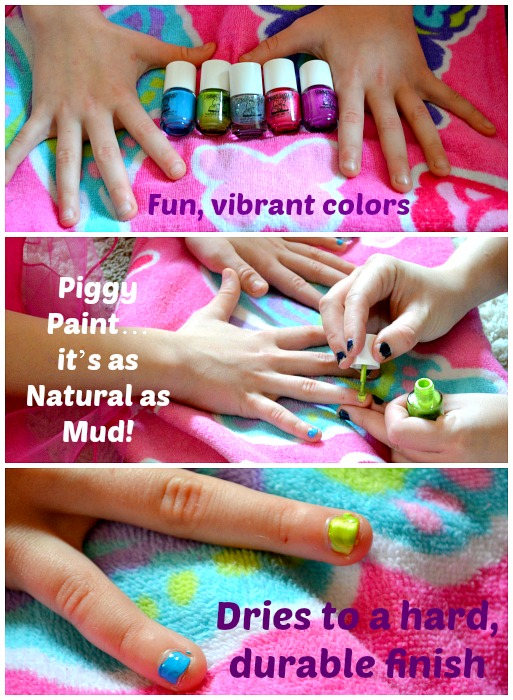 Getting Pampered For The Holidays With Eco-friendly Nail Polish #‎PamperedPiggies‬