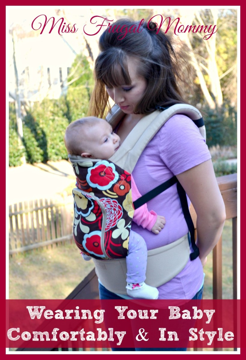 Wearing Your Baby Comfortably Amp In Style Miss Frugal Mommy