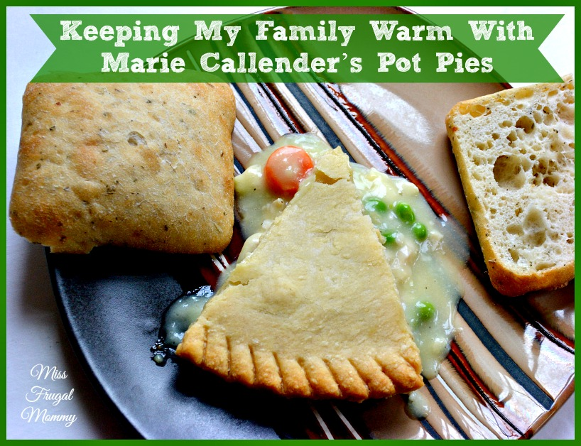 Keeping My Family Warm With Marie Callender's Pot Pies #PotPiePlease