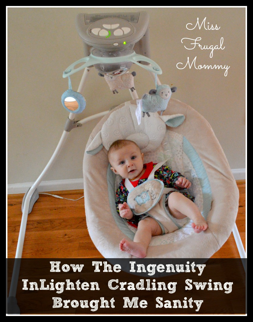 How The Ingenuity InLighten Cradling Swing Brought Me Sanity