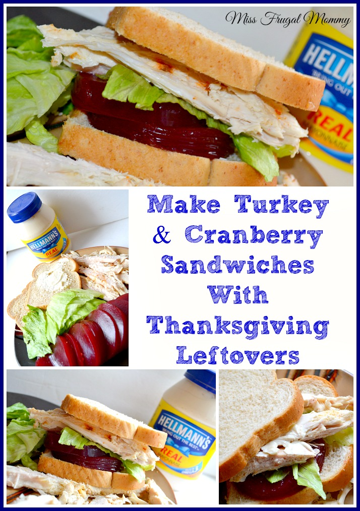 Make turkey cranberry sandwiches with thanksgiving for How to make leftover turkey sandwich
