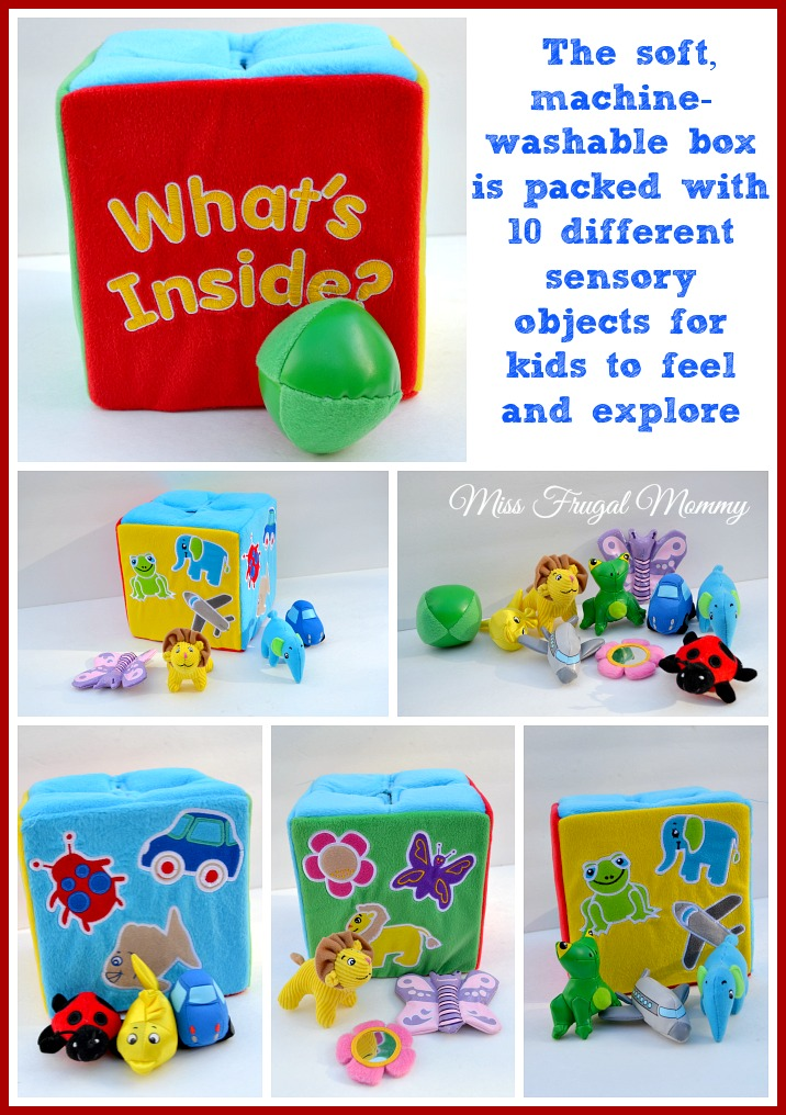 What's Inside? A Must Have Sensory Toy For Your Baby