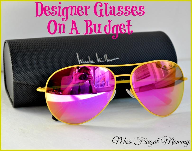 Designer Glasses On A Budget