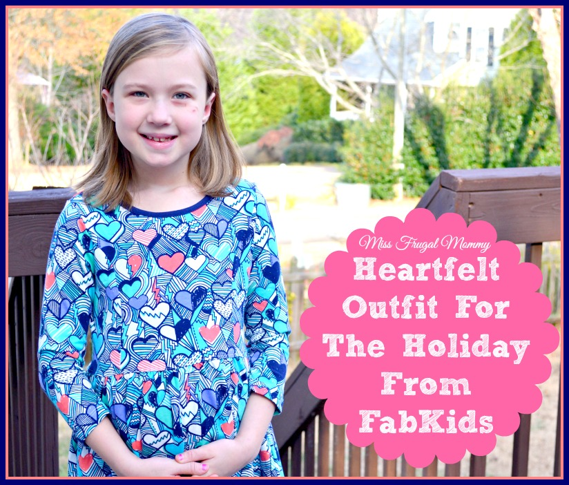 Heartfelt Outfit For The Holiday From FabKids