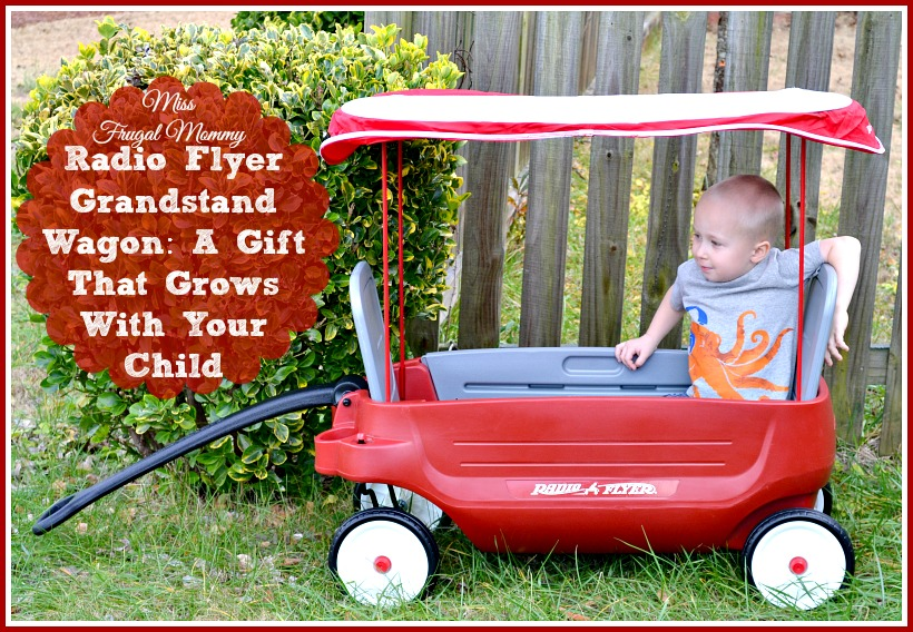 Radio Flyer Grandstand Wagon: A Gift That Grows With Your Child