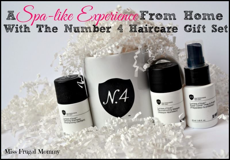 A Spa-like Experience From Home With The Number 4 Haircare Gift Set