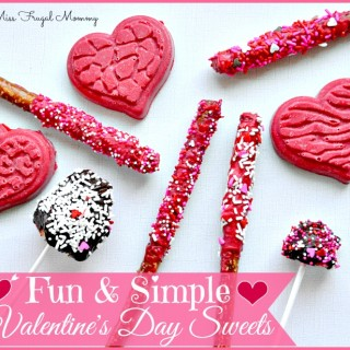 Fun & Simple Valentine's Day Treats