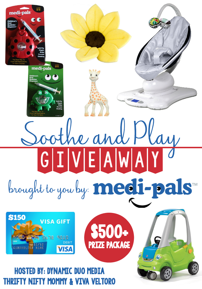 Enter To Win The Medi-Pals Soothe & Play Giveaway
