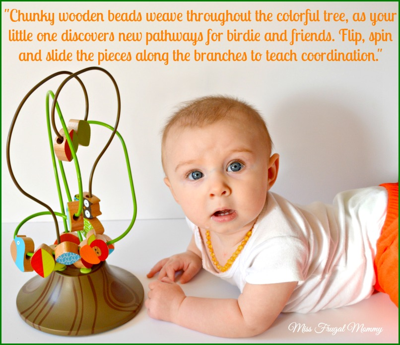 Babies Have Fun Learning With The Busy Bead Tree