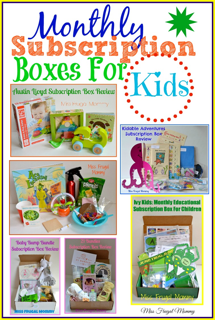 Must have monthly subscription boxes for kids miss for Kid craft subscription box