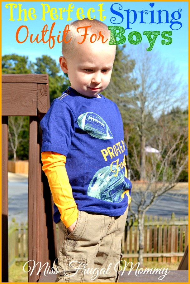The Perfect Spring Outfit For Boys