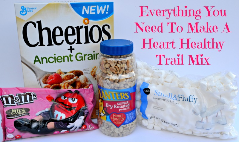 A Heart Healthy Trail Mix