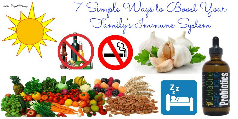 7 Simple Ways to Boost Your Family's Immune System