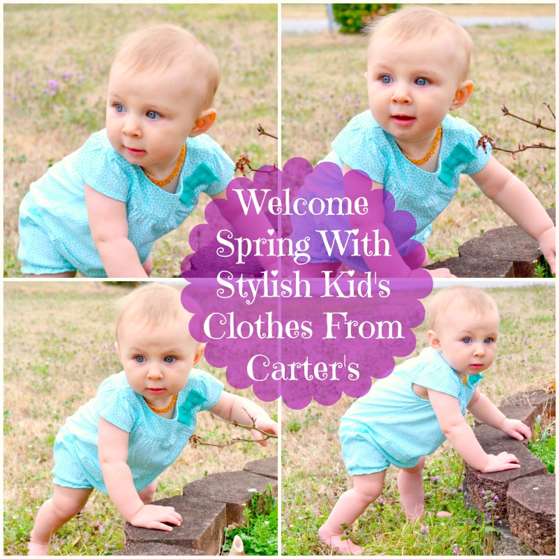 Welcome Spring With Stylish Kid's Clothes From Carter's