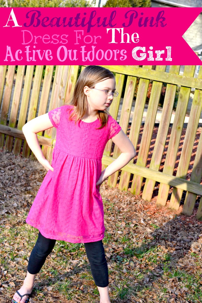 A Beautiful Pink Dress For The Active Outdoors Girl