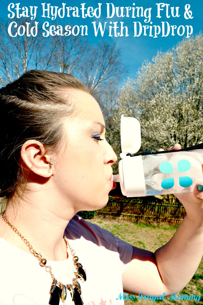 Stay Hydrated During Flu & Cold Season With DripDrop